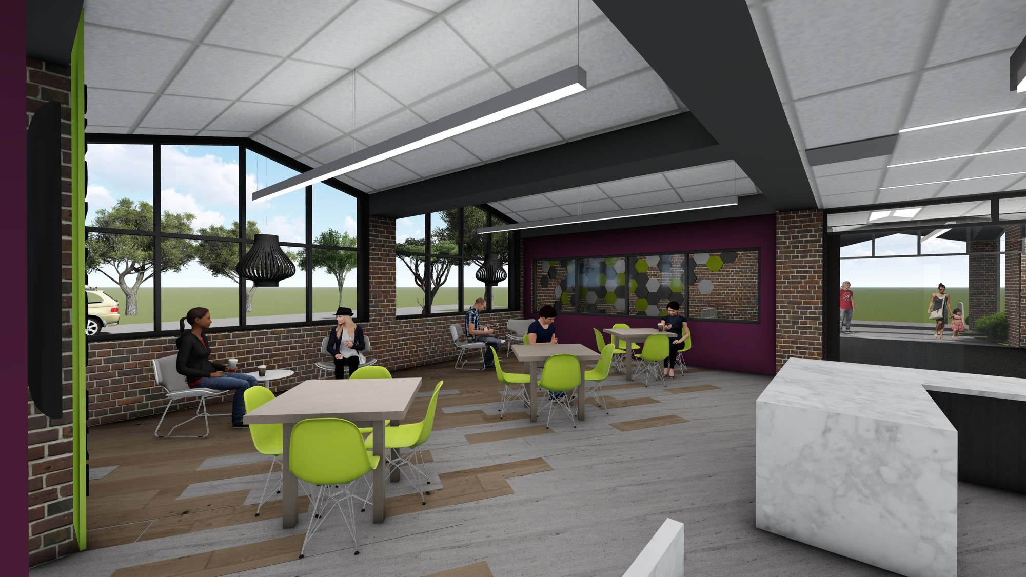 New Commons Area
